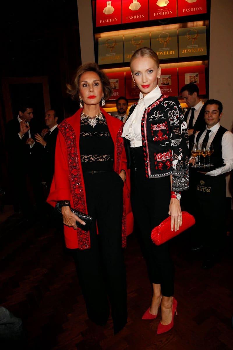 Tatiana Korsakova and Nati Abascal