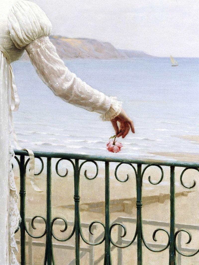 Edmund Blair Leighton A Favour