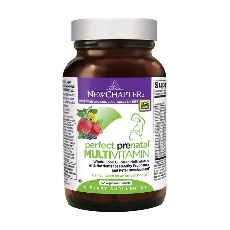 мультивитамины для беременных New Chapter Perfect Prenatal Multivitamin