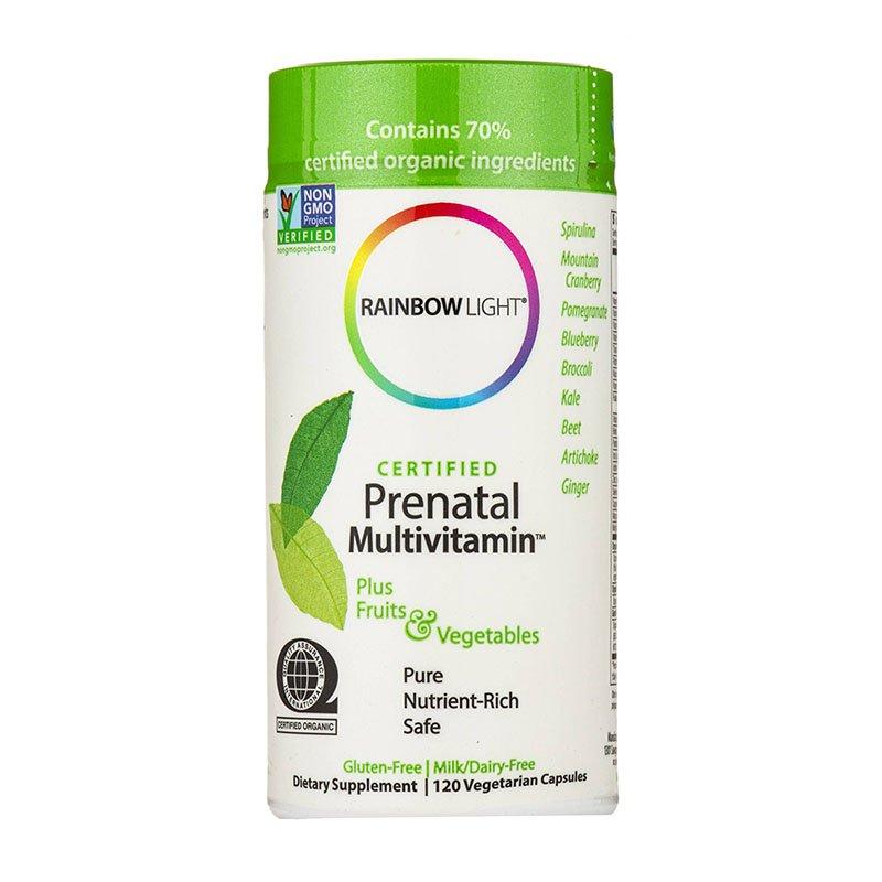 мультивитамины для беременных Rainbow Light, Certified Prenatal Multivitamin