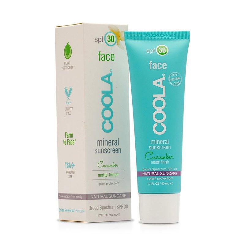 Охлаждающее солнцезащитное средство COOLA Mineral Face SPF30 Matte Tint Moisturiser