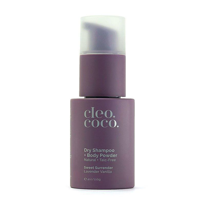 пудра для подмышек Cleo+Coco Dry Shampoo + Body Powder