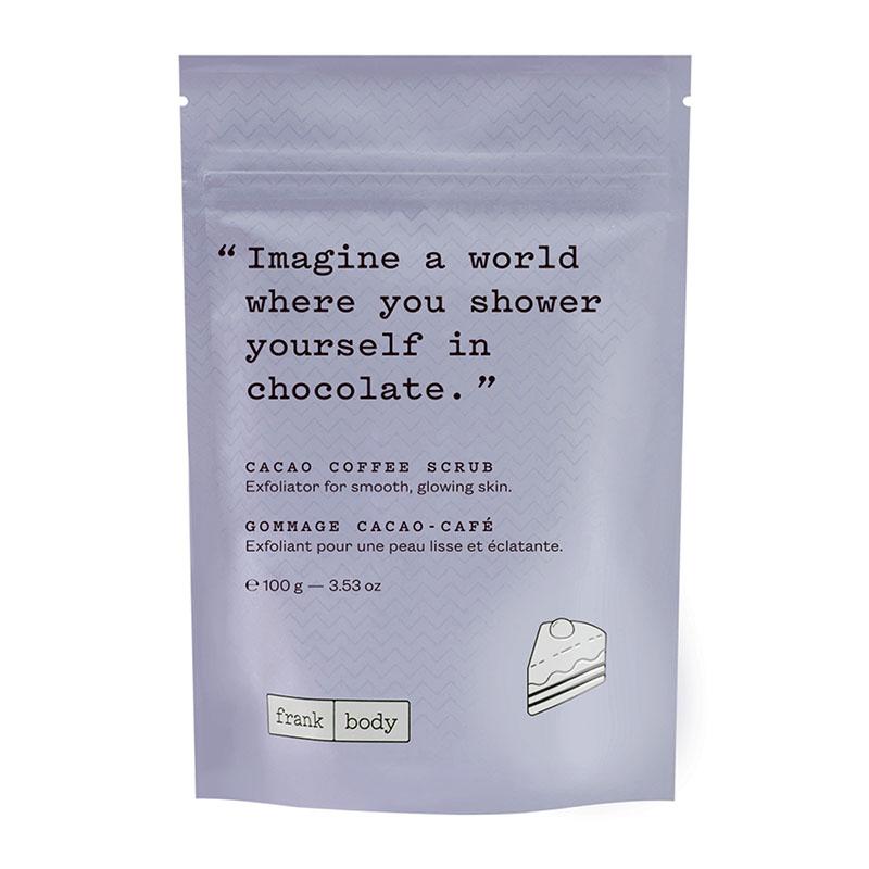скраб для тела Frank Body Cacao Coffee Scrub