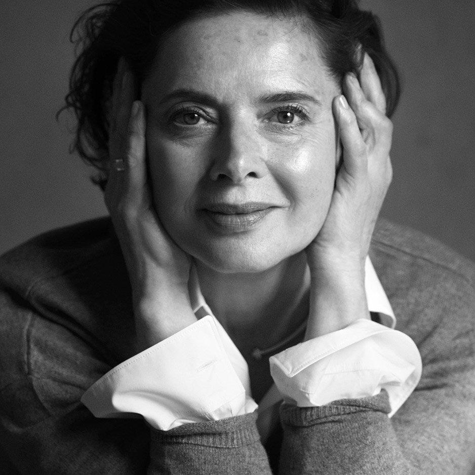 Изабелла Росселлини о модельной карьере, возрасте и курах