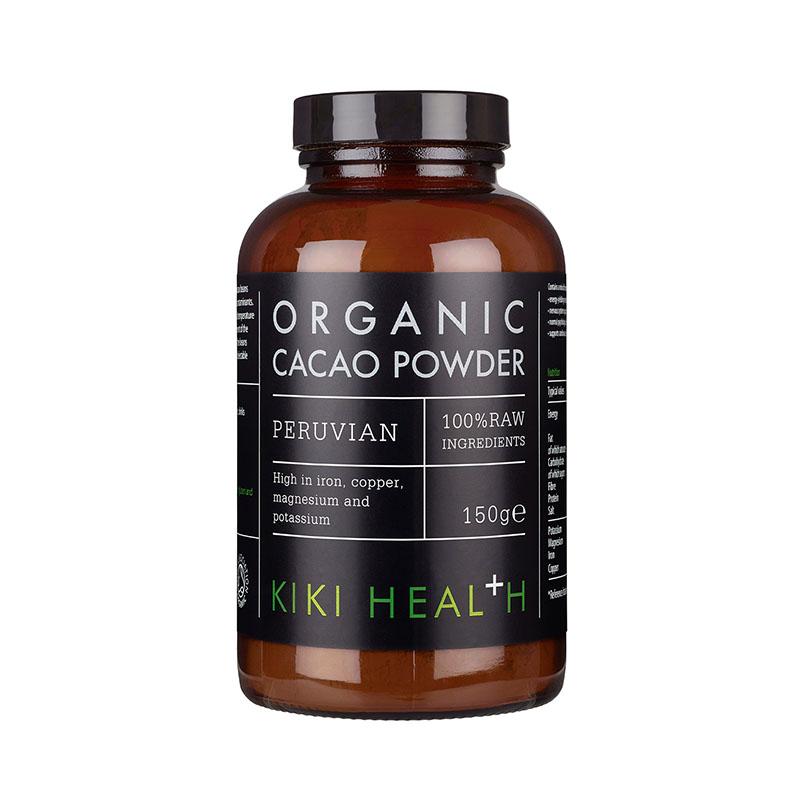 пищевая добавка с какао KIKI Health Organic Cacao Powder какао масло косметическое