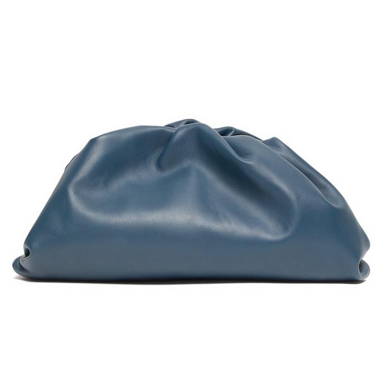 BOTTEGA VENETA The Pouch large leather clutch