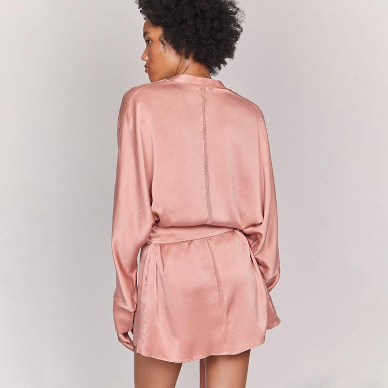Kent ZAM Organic Silk Robe