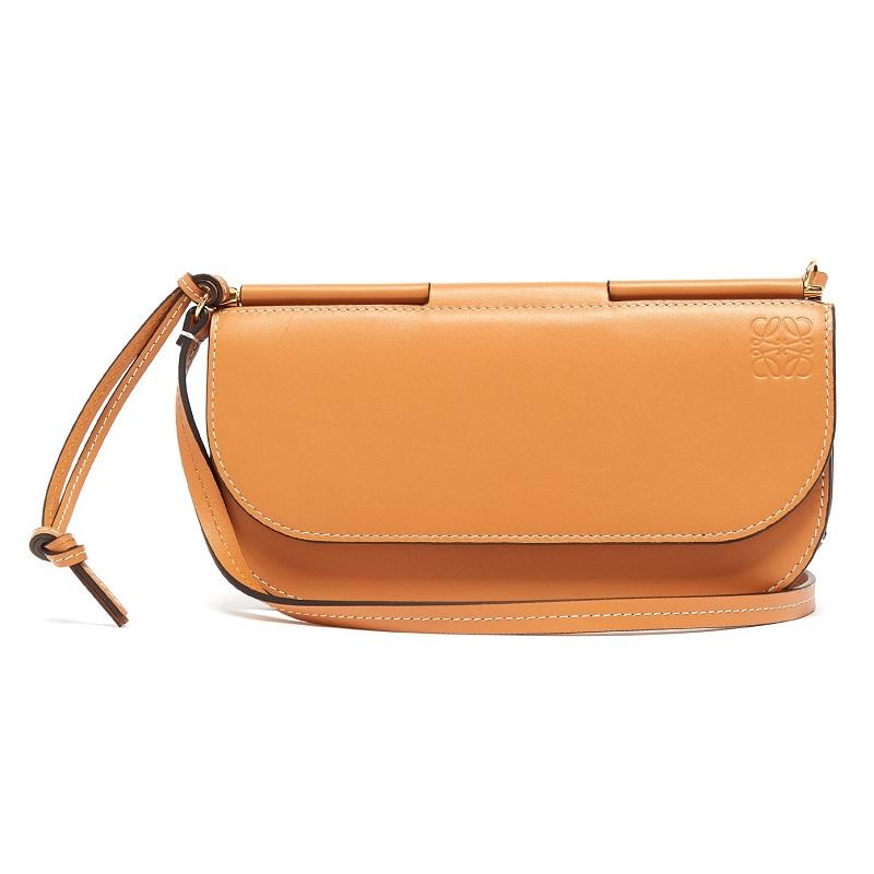LOEWE Gate pochette leather cross-body bag