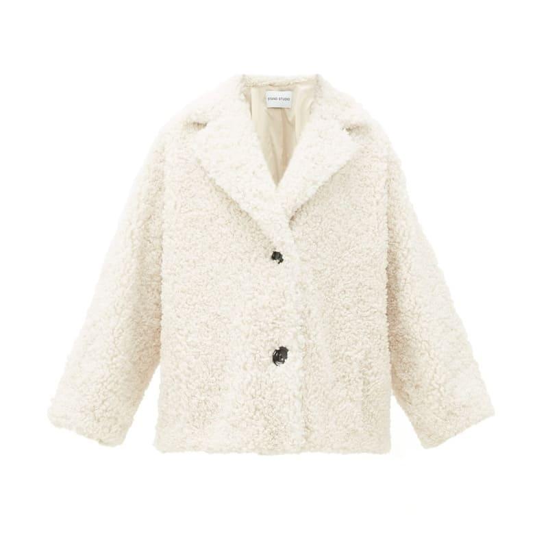 STAND STUDIO Merilyn faux-shearling coat