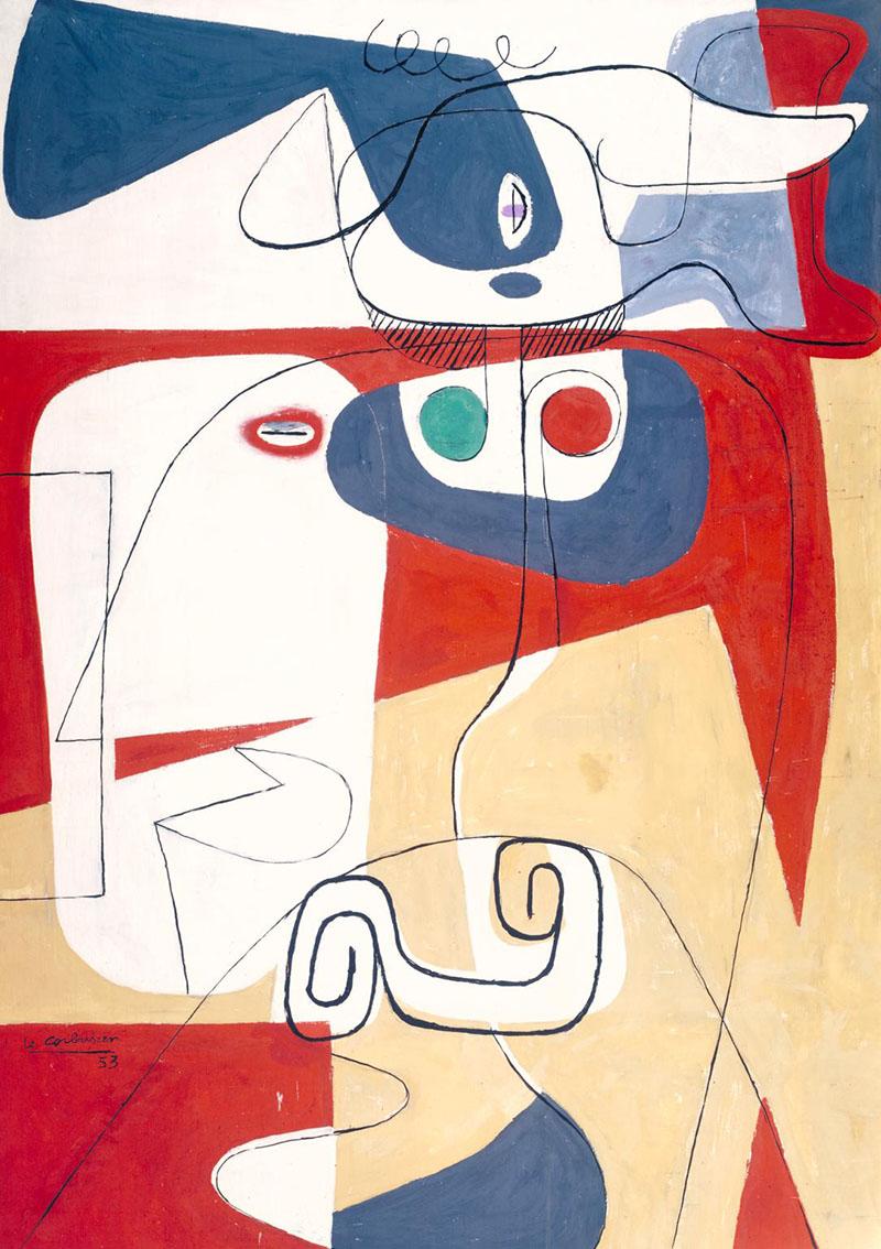 Bull III by Le Corbusier