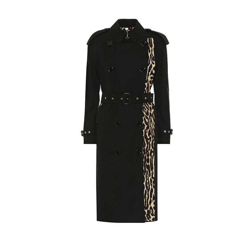 Burberry Leopard coat