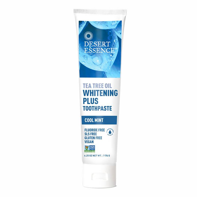Desert Essence Tea Tree Oil Whitening Plus Toothpaste