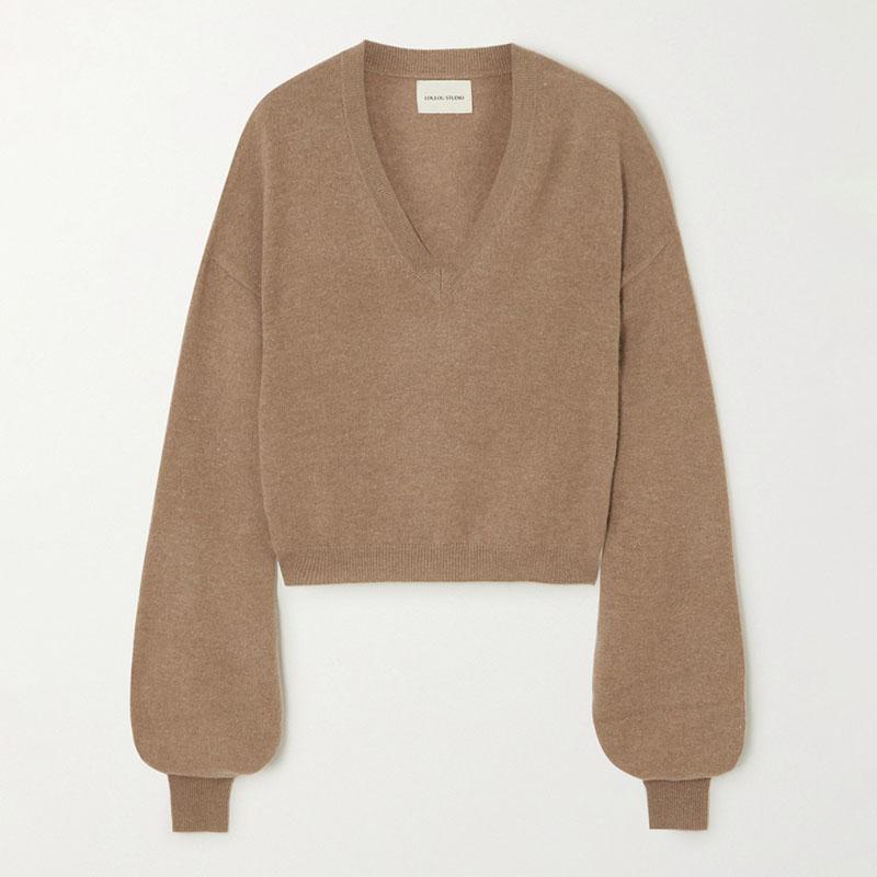 LOULOU STUDIO_Fangatau cashmere sweater