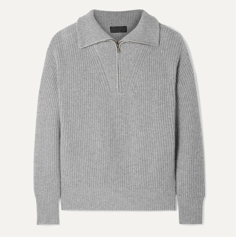 NILI LOTAN Hester ribbed cashmere sweater