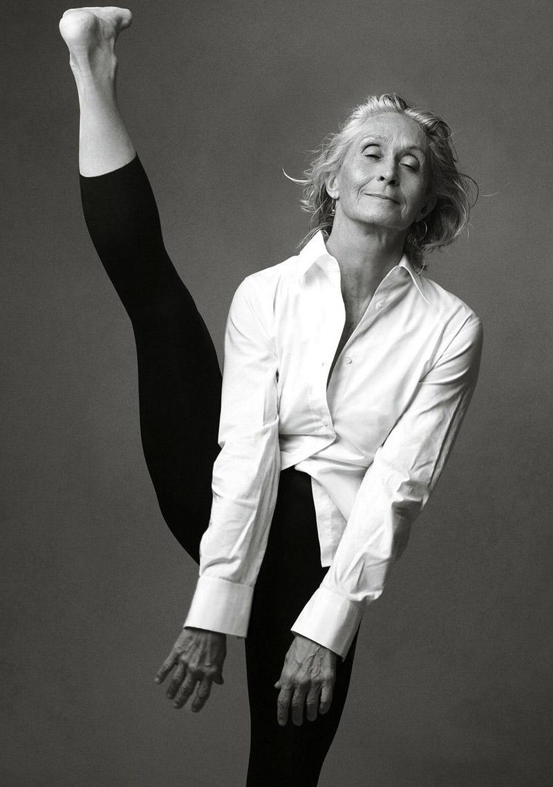Twyla Tharp by Annie Liebovitz