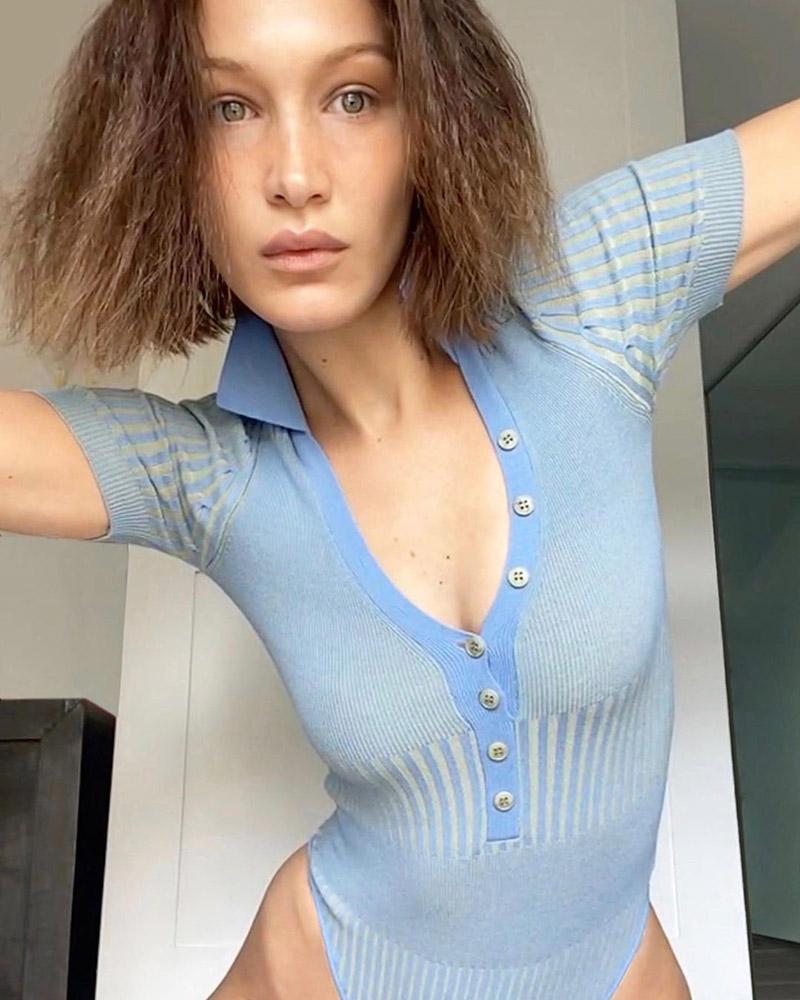 Bella Hadid Jacquemus