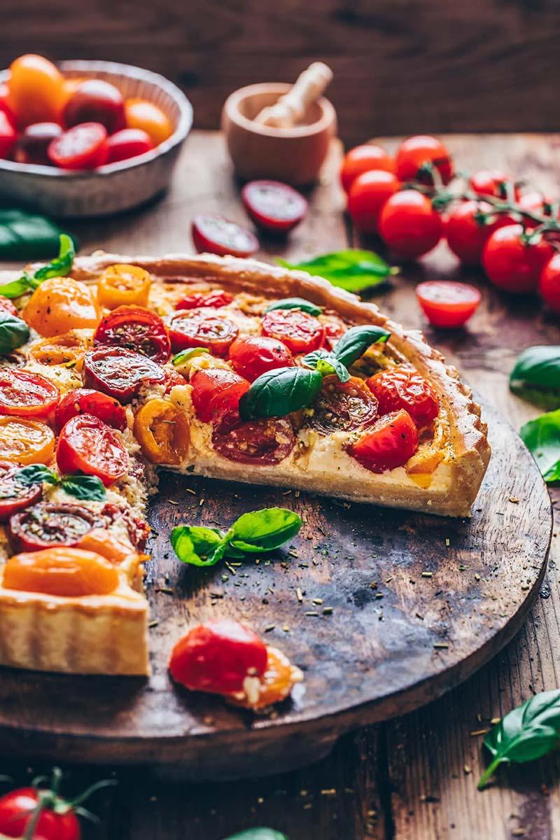 Tomato pie