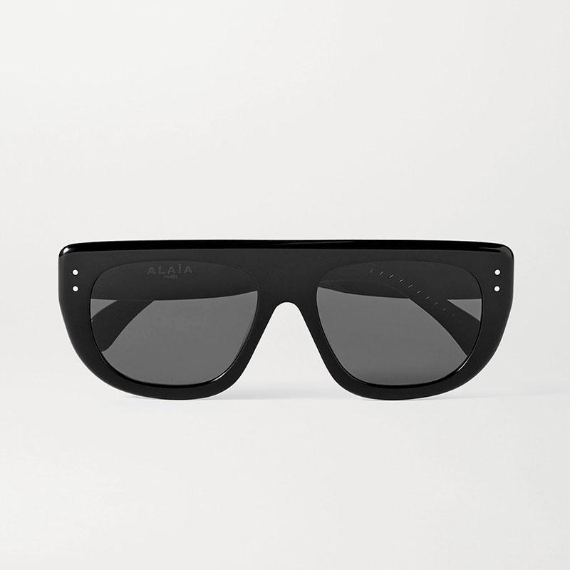 Солнцезащитные очки ALAÏA D-frame acetate sunglasses
