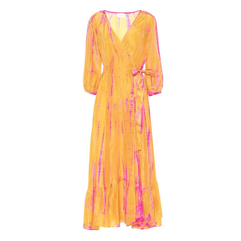 Платье с запахом ANNA KOSTUROVA