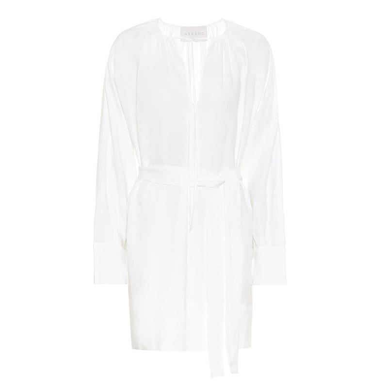 платье ASCENO Santorini linen minidress