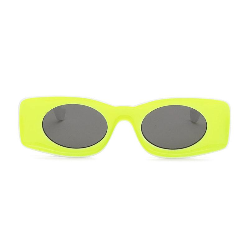 Солнцезащитные очки LOEWE + Paula's Ibiza square-frame neon acetate sunglasses