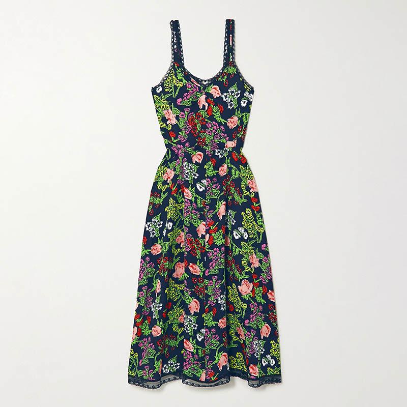 Платье-комбинация MOLLY GODDARD