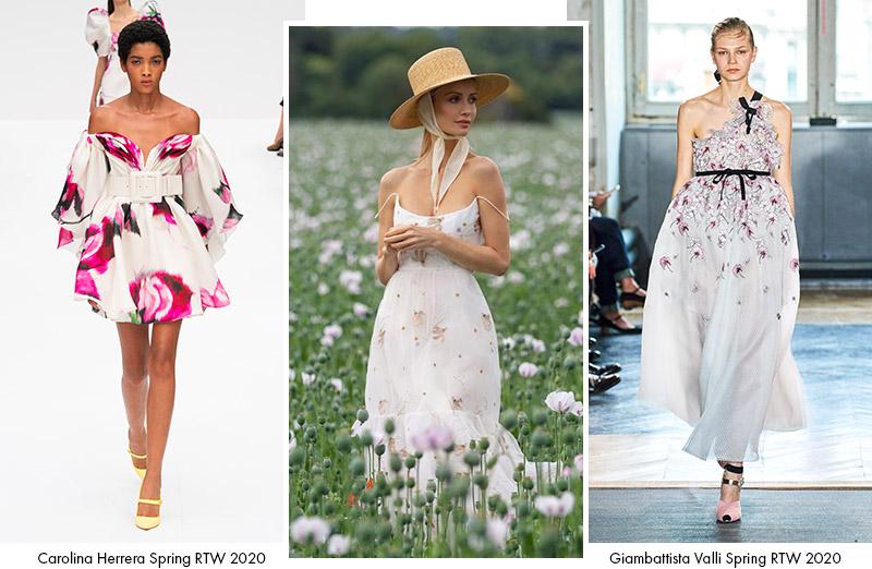 Платья в цветочек: сезон Весна 2020