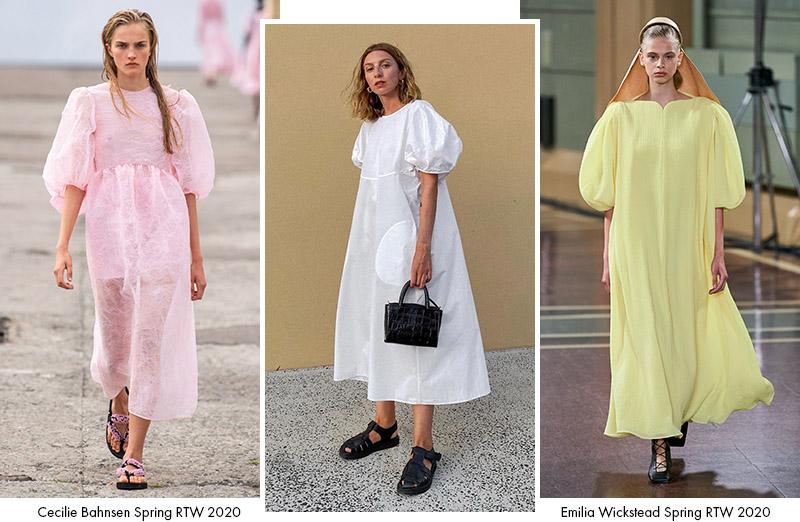 Платья-парашюты: сезон Весна 2020