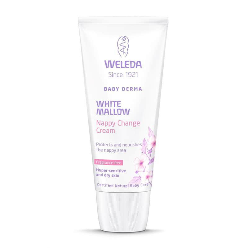 Крем для пеленания Weleda Baby Derma White Mallow Nappy Cream