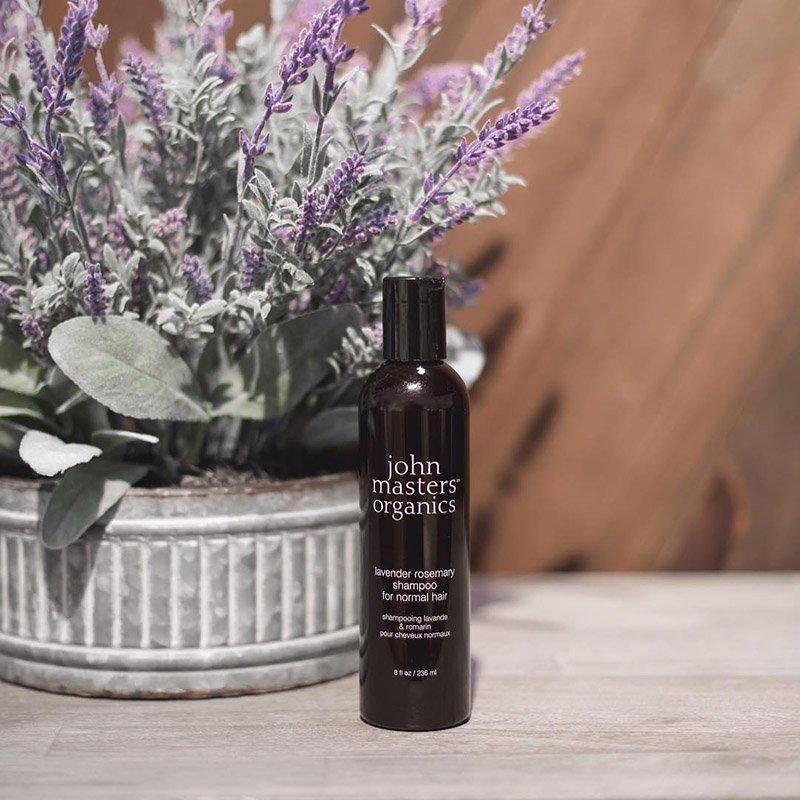 Шампунь для нормальных волос John Masters Organics Lavender & Rosemary