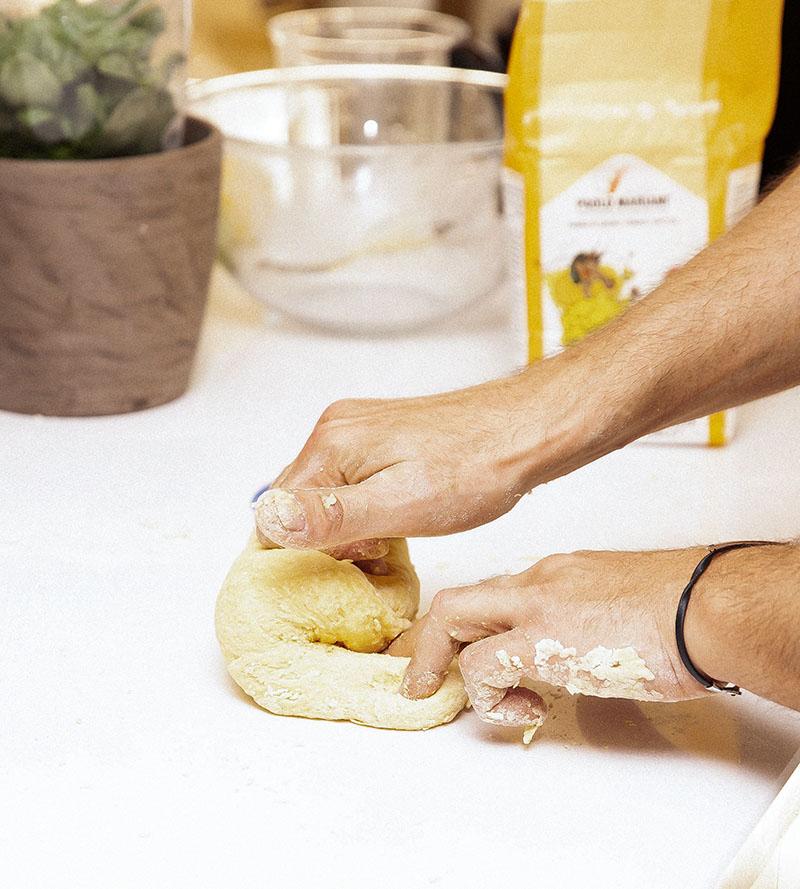 Домашняя паста с соусом песто рецепт