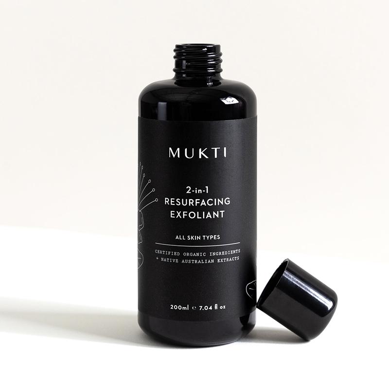 Mukti Organics 2-In-1 Resurfacing Exfoliant