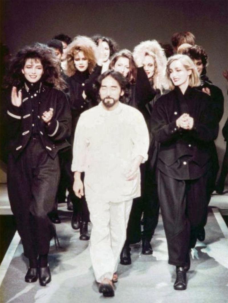 Yohji Yamamoto 1981 Paris