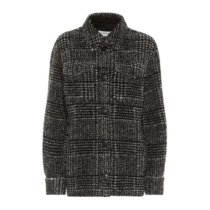 ISABEL MARANT, ÉTOILE Gastoni checked wool-blend jacket