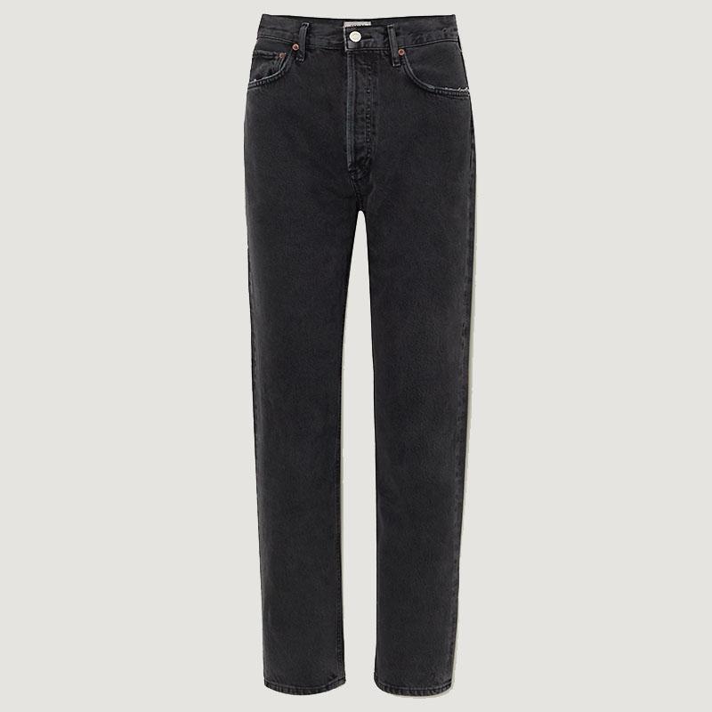 AGOLDE + NET SUSTAIN '90s organic high-rise straight-leg jeans