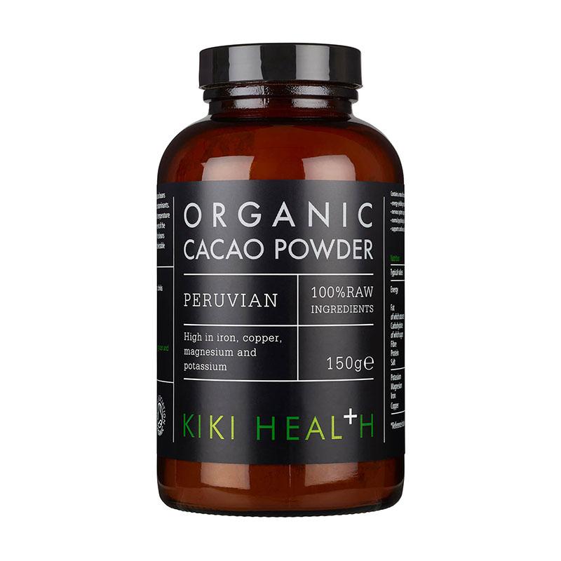 какао-порошок KIKI Health Organic Cacao Powder