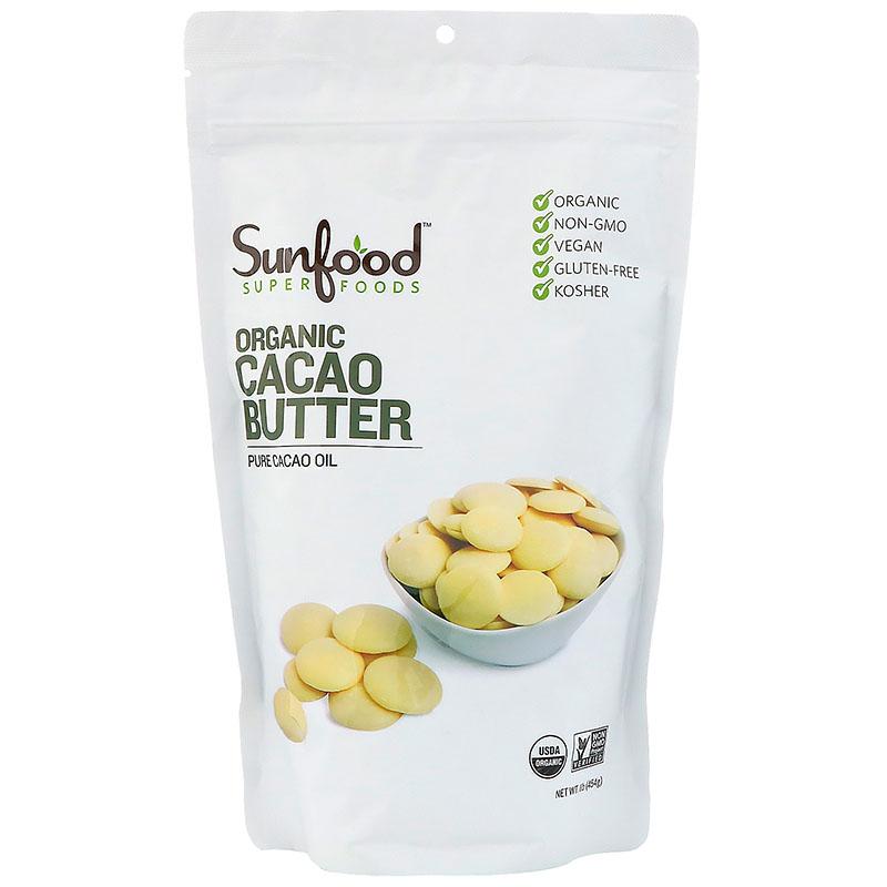Sunfood, Organic Cacao Butter