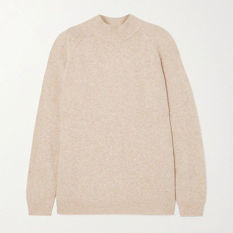 HOLZWEILER Flyndre wool turtleneck sweater