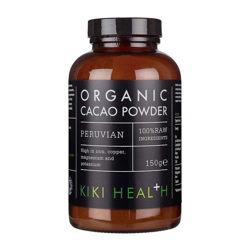 Органический какао-порошок KIKI Health Organic Raw Cacao Powder