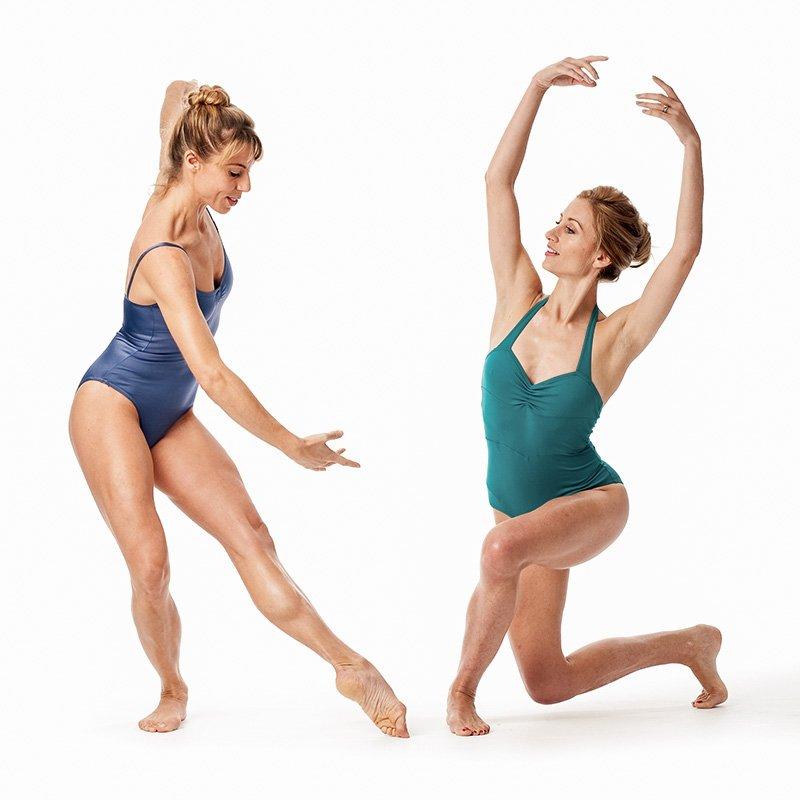 Тренировка по фитнес-балету