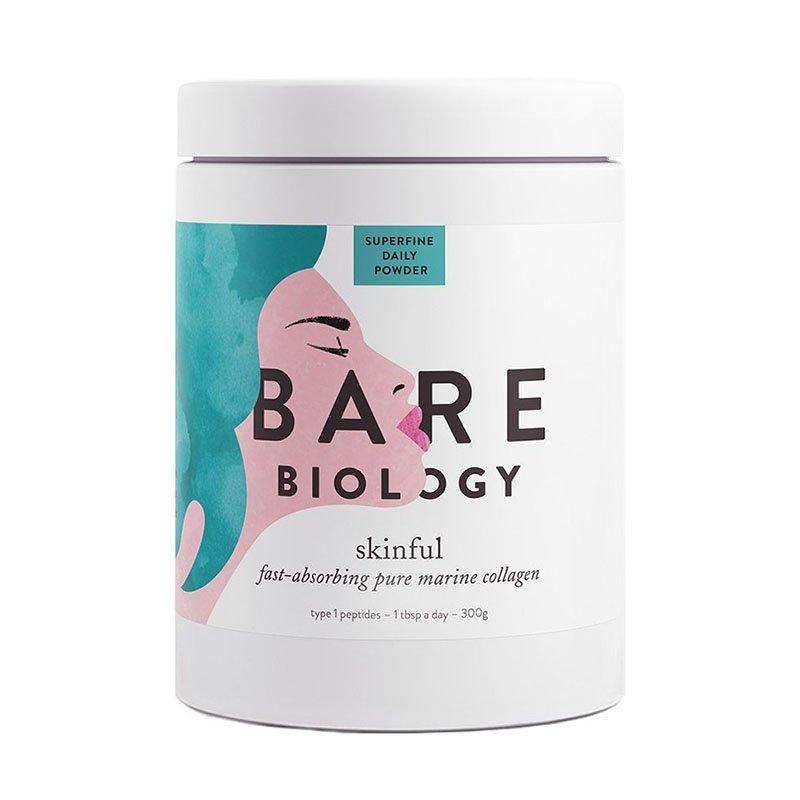 чистый морской коллаген Bare Biology Skinful Marine Collagen Powder
