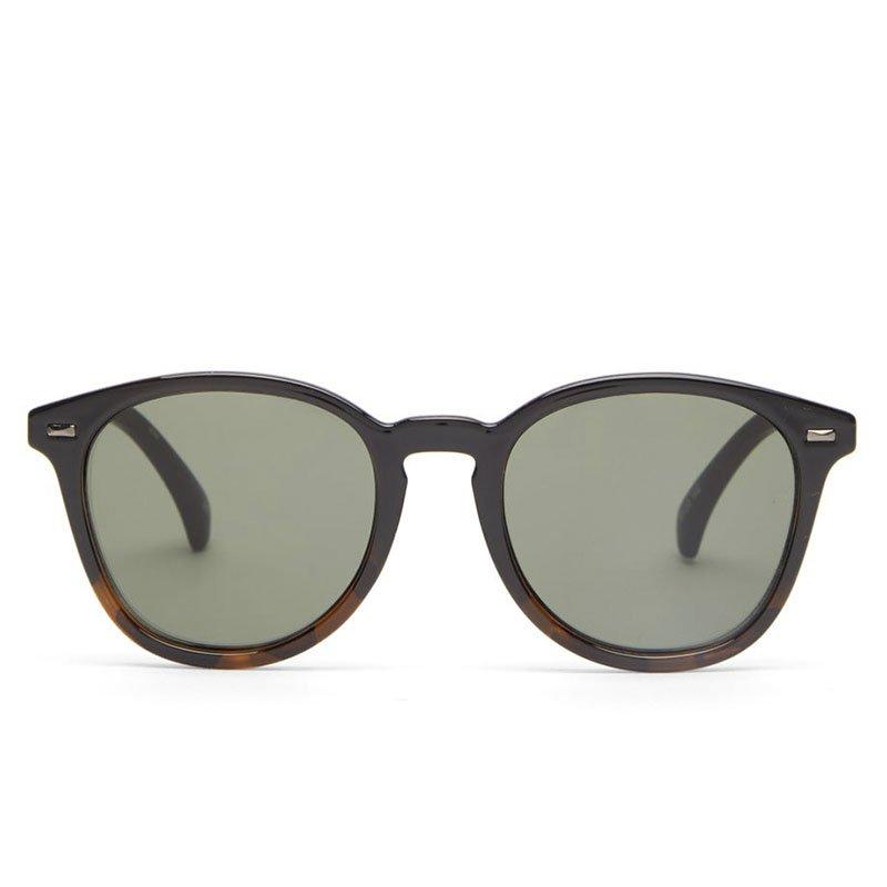 LE SPECS Bandwagon acetate round sunglasses