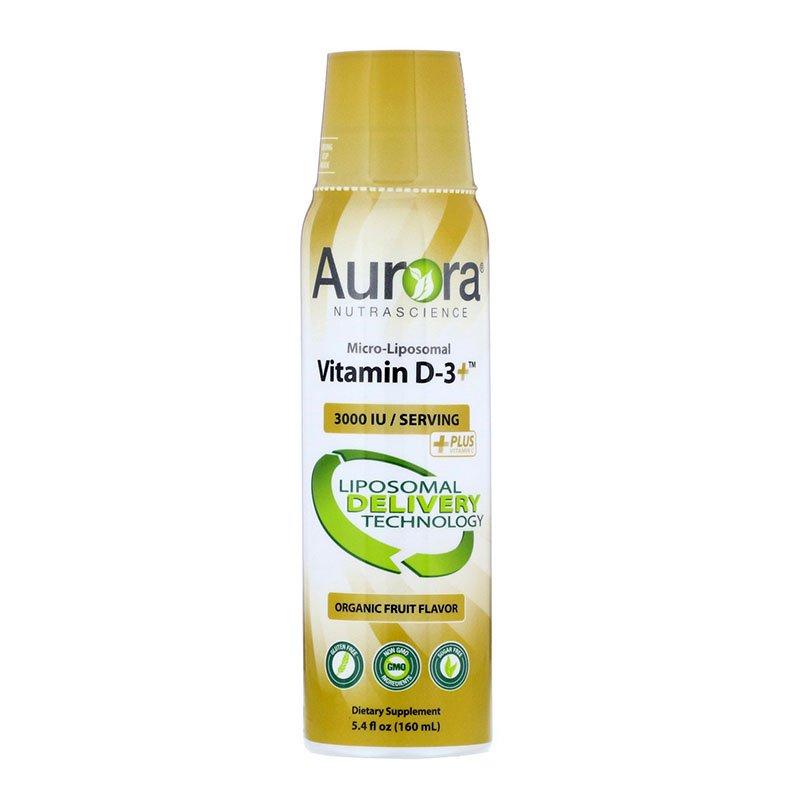 липосомальный витамин D Aurora Nutrascience Micro-Liposomal Vitamin D3+