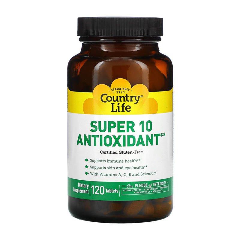 complexe antioxydant Country Life Super 10 Antioxydant