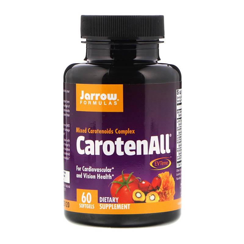 complexe de caroténoïdes Jarrow Formulas, CarotenALL, Complexe de caroténoïdes mixtes