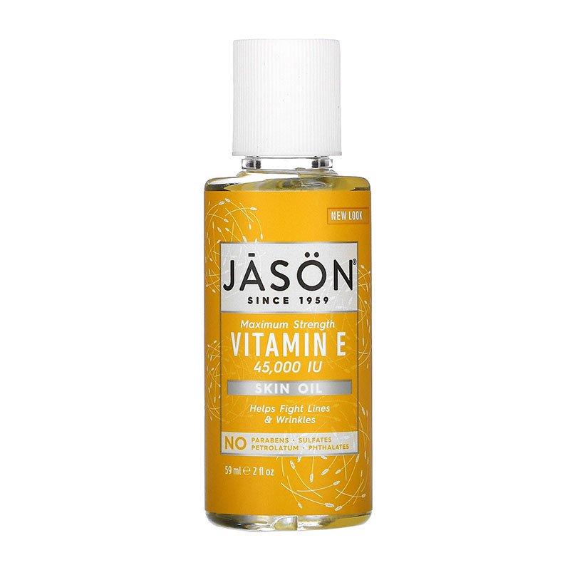 huile corporelle avec vitamine E Jason Natural Pure Natural Skin Oil Force maximale Vitamine E