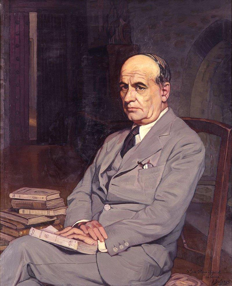 портрет Хосе Ортега-и-Гассета