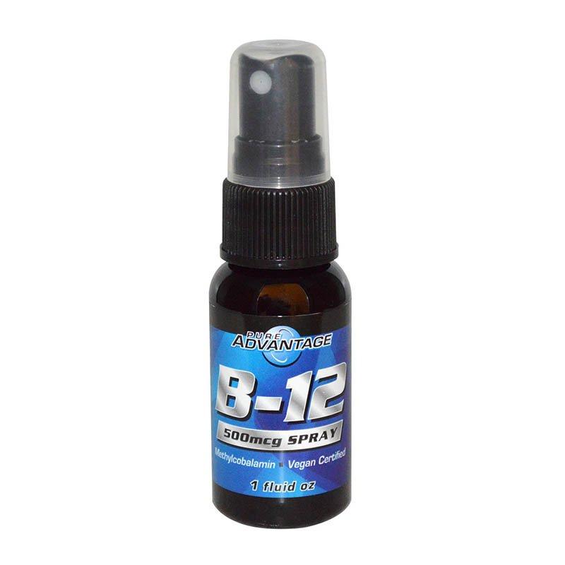 витамин B12 в жидкой форме Pure Advantage B-12 Spray