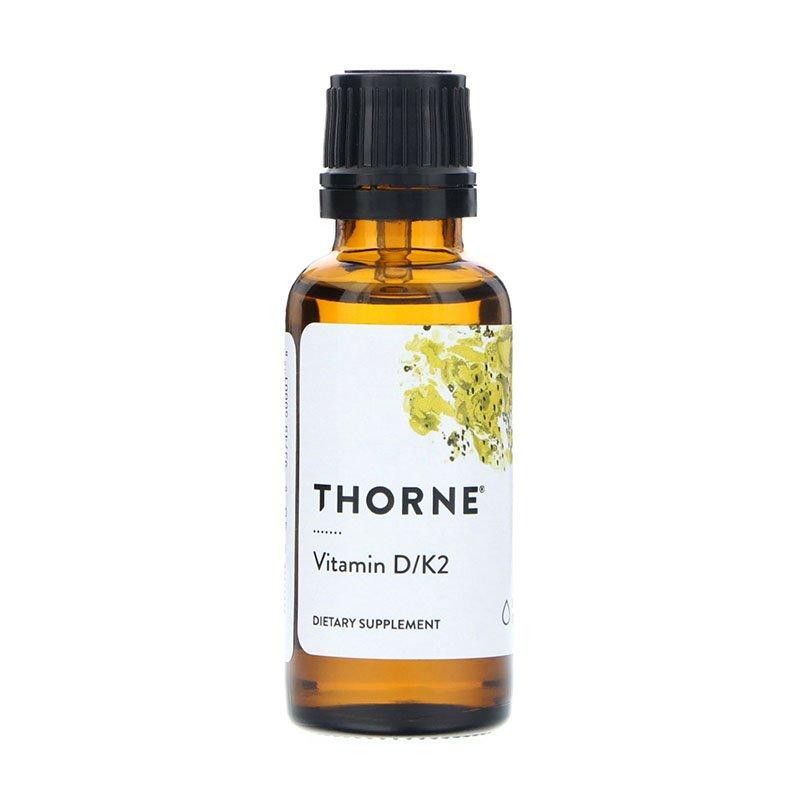 жидкий витамин D Thorne Research Vitamin D/K2