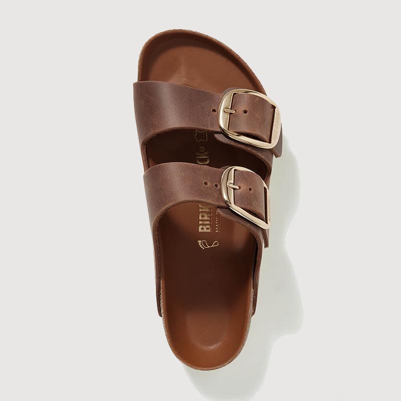 BIRKENSTOCK Arizona oiled leather sandals